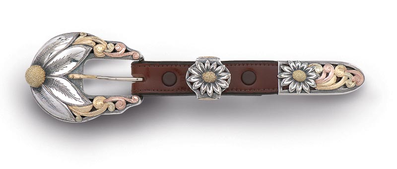 Lady's three-piece buckle set