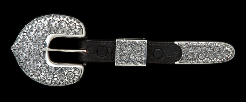 Sterling silver buckle set