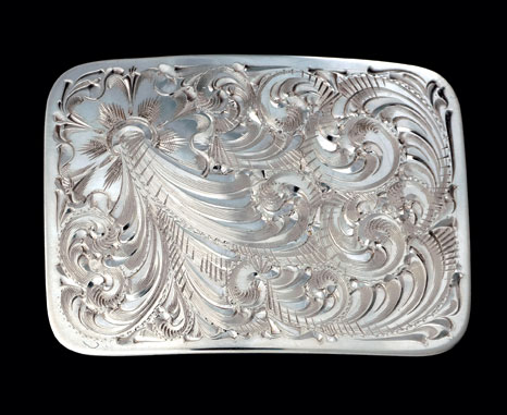 Sterling silver conchas