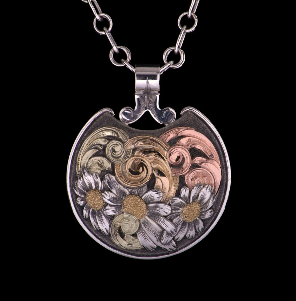 Pendant with Sterling Chain